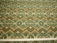 "3 1/2 yards Robert Allen ""Rhythm Waves"" Ikat upholstery Fabric r9884c"