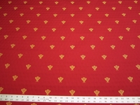 3 1/4 yards of Duralee Bee hospitality upholstery fabric
