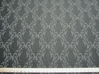 3 1/8 Serenade indigo pineapple patterned upholstery fabric