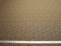 3 1/8 yards leopard spots upholstery fabric