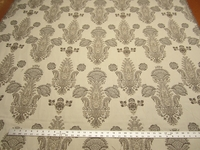 3 1/8 yards of formal brocade design upholstery fabric