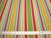 3 1/8 yards of Robert Allen Home Mod Layout stripe print upholstery fabric r1336
