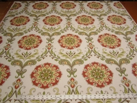 3 3/4 yards of Swavelle Mill Creek Barossa persimmon upholstery fabric