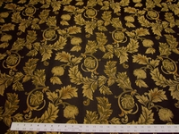 3 3/4 yards scroll leaf hospitality upholstery fabric