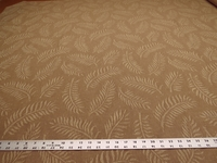 3 3/8 yards of fern leaf pattern upholstery fabric