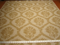 3 7/8 yards Alicia Gold brocade upholstery fabric