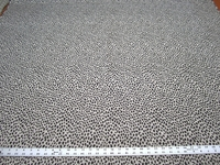 3 7/8 yards of Snow Leopard chenille upholstery fabric