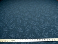 3 yards of fern leaf pattern upholstery fabric