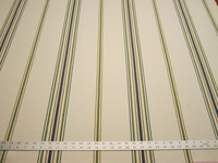 4 1/2 yards of heavyweight stripe upholstery fabric