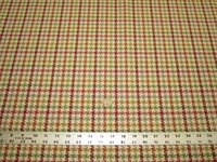 4 1/2 yards of houndstooth check upholstery fabric
