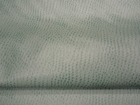 4 1/2 yards of light green ostrich pattern artificial leather upholstery fabric