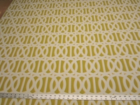 4 1/2 yards Reflex II citron acrylic indoor outdoor upholstery fabric