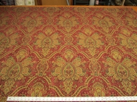 4 1/2 yards Richloom Concierg� paisley chenille upholstery fabric