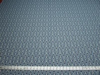 4 1/4 yards of blue small pattern upholstery fabric