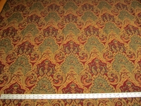 4 1/4 yards of paisley tapestry upholstery fabric