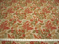 4 1/8 yards Spring Plants tapestry upholstery fabric from Robert Allen