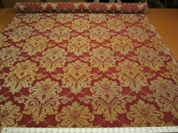 4 3/4 yards high quality chenille brocade upholstery fabric