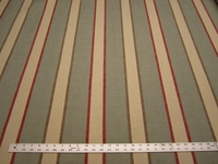 4 3/4 yards Marley stripe color spa upholstery fabric