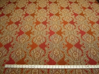 "4 3/4 yards of ""Derrington"" brocade upholstery fabric"