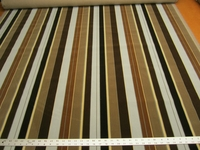 4 3/8 yards Kravet striped velvet upholstery fabric