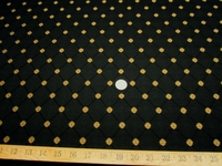 4 3/8 yards of Robert Allen Flowercrest diamond patterned upholstery fabric