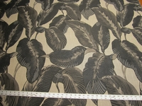 4 3/8 yards of tropical leaf tapestry upholstery fabric r9832