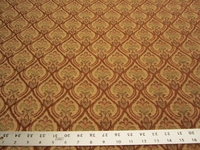 4 5/8 yards of paisley chenille upholstery fabric