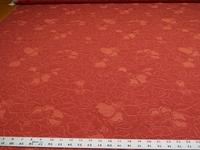 4 yards of flower blossom pattern upholstery fabric