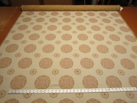 4 yards of Palazzo medallion patterned upholstery fabric