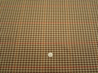 4 yards of Pembrook Chestnut houndstooth upholstery fabric