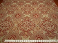 4 yards of rich paisley upholstery fabric