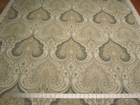 8 1/2 Kravet Latika damask color limestone linen print fabric