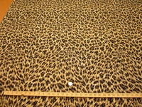 ft113, Leopard skin lurex tapestry upholstery fabric