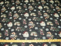 ft963, Christmas Santa Claus tapestry
