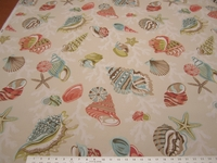 P Kaufmann Indoor/Outdoor Coral Beach Shell Fabric