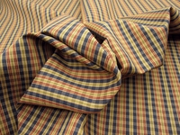 R5791, 3 yards nice woven multi color stripes n checks
