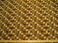 r7781, 3.3 yd Geometric Check Upholstery