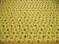r8408, 3.3 yd Formal Floral Upholstery