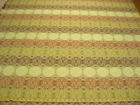 r8439, 3.3 yd Circles and Stripes Upholstery