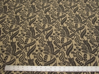 r8739, 3.25 yd Paisley and Leaf Upholstery
