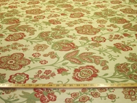 r8890, 3.3 yards heavy leafy vine upholstery