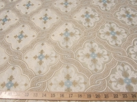 r8972, 3.2 yd Neutral Tone Patterned Upholstery