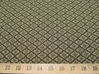 r8975, 4.5 yd Small Diamond Design Upholstery