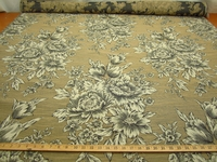 r9166, 4 1/4 yds. Floral Upholstery