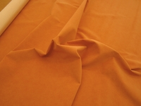 r9282, 4 yards of terracotta dimpled faux suede upholstery fabric