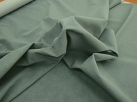 r9291, 3 3/4 yards of malibu blue commercial faux suede upholstery fabric
