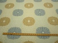 r9335, 4 3/8 yd Formal Brocade Design Upholstery and Drapery Fabri