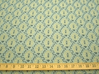 r9349, 1 5/8 yds Small Patterned Upholstery