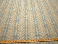 r9450, 1 3/4 yd Textured Leaf Stripe Upholstery