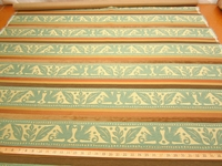 r9603, 1 1/2 yards of Love birds frieze chenille upholstery fabric